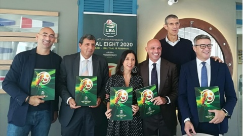Final Eight di Coppa Italia alla Vitrifrigo Arena